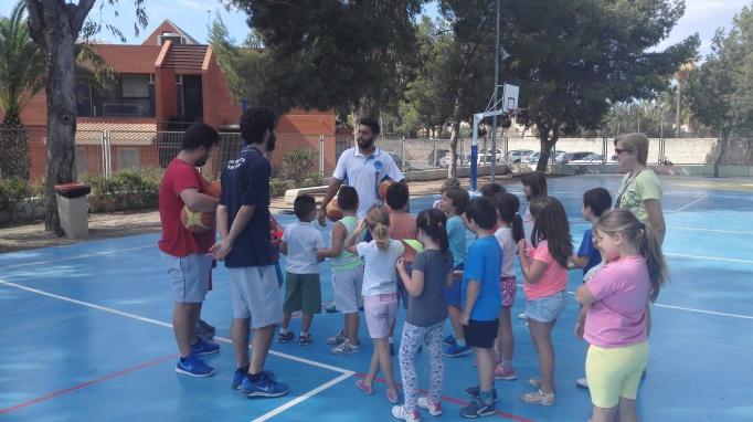 Visita al CEIP Lo Romero de Sant Joan d'Alacant