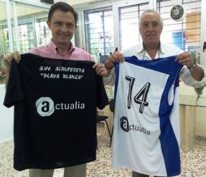 José Ángel Bañuls (ACTUALIA) y Ernesto Jarabo (PRESIDENTE AVV) sellan un acuerdo histórico