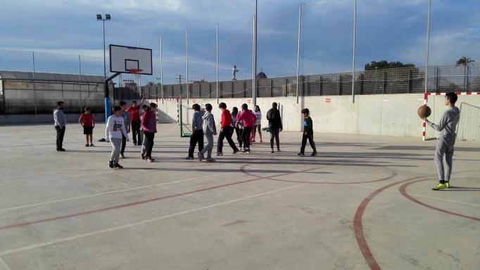 Baloncesto en el IES Lloixa